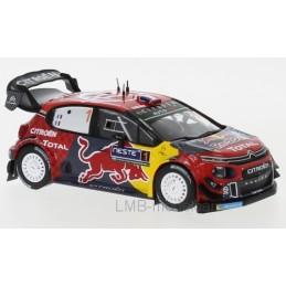 1/43 Citroen C3 WRC, No.1,...