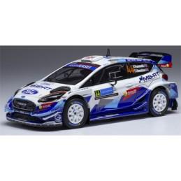 1/43 Ford fiesta WRC 44...